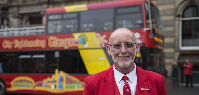 city sightseeing glasgow tourist guide