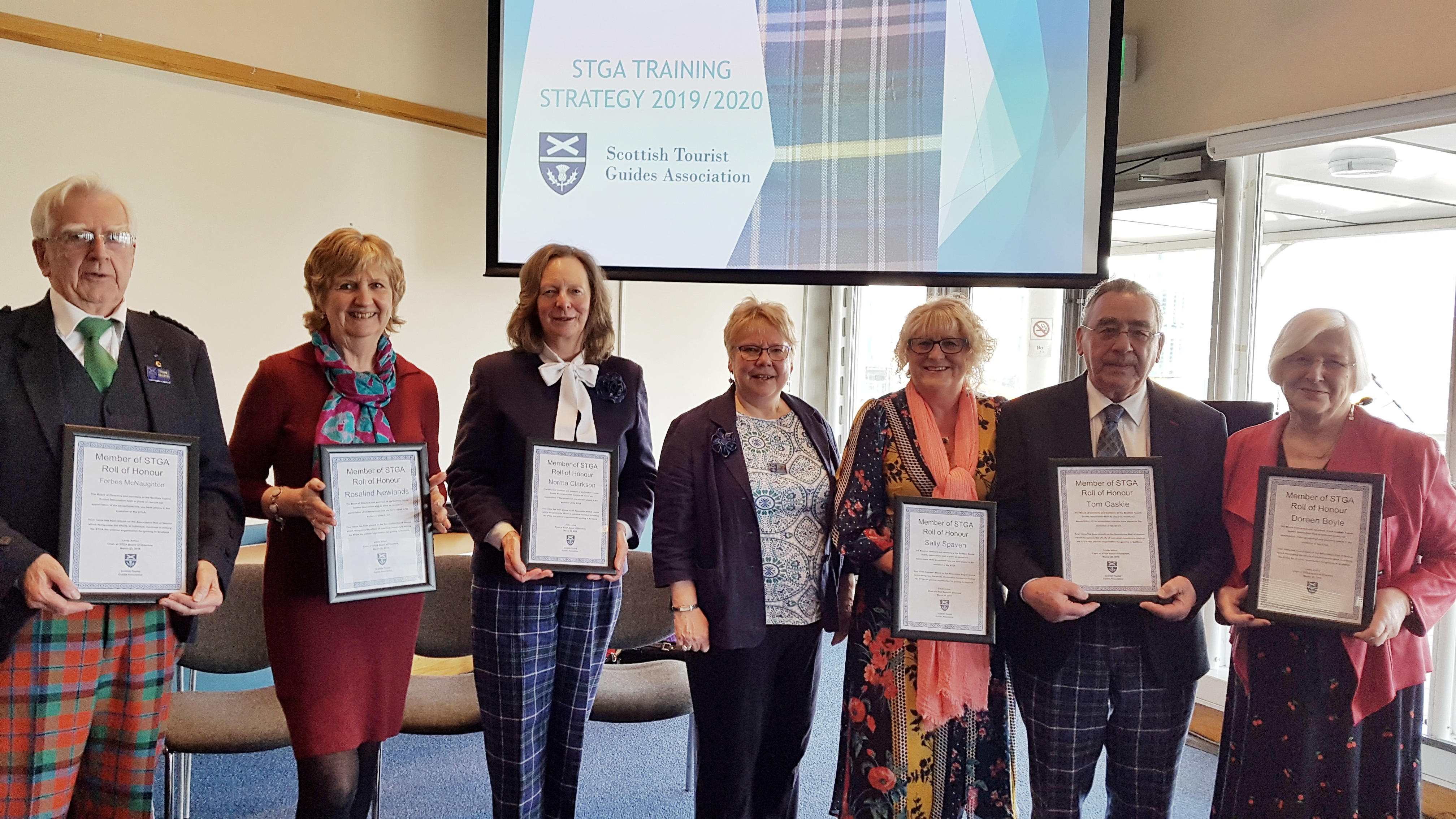 STGA Honorary Awards 2019