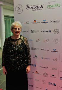 Elma McMenemy, Scottish Hospitality Hero finalist, Scottish Thistle Awards 2019