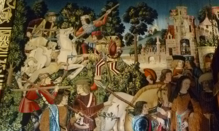 stirling unicorn tapestry
