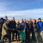 scottish tourist guides beach clean 2020
