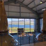 Copper stills from Whisky distillery in Scotland