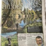 Article in Sunday Mail 5th July 2020 Scotland's Hidden Gems