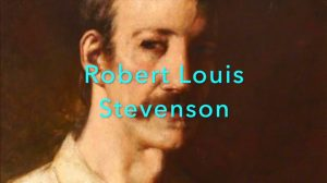 painting of Robert Louis Stevenson